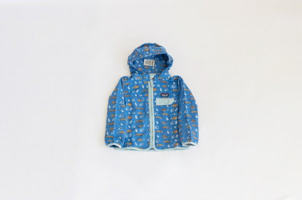 Patagonia(パタゴニア)Baby Baggies Jacket(Fishies in the Swamp:Bayou Blue)