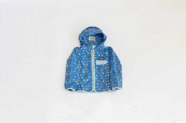 Patagonia(パタゴニア)Baby Baggies Jacket(Fishies in the Swamp:Bayou Blue)