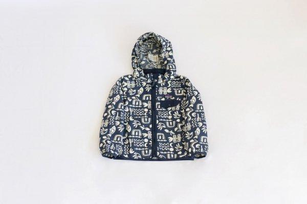 Patagonia(パタゴニア)Baby Baggies Jacket(Backyard Explorer:Stone Blue)