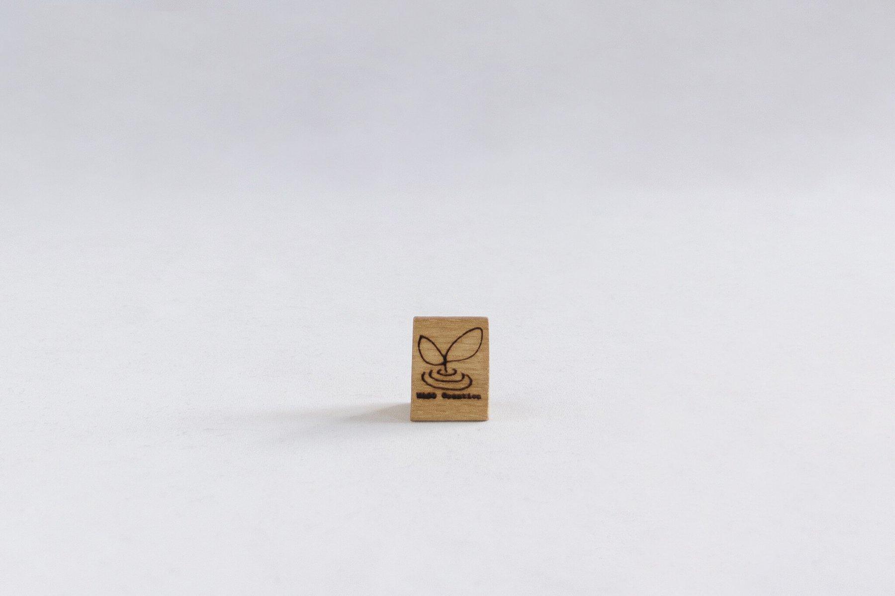 木の兜飾り 片角-2