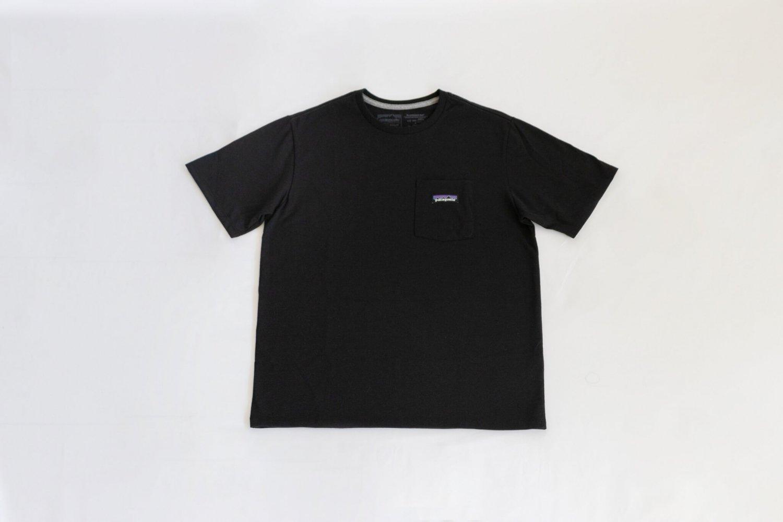 Patagonia(パタゴニア)M's P-6 Label Pocket Responsibili-Tee(Black)