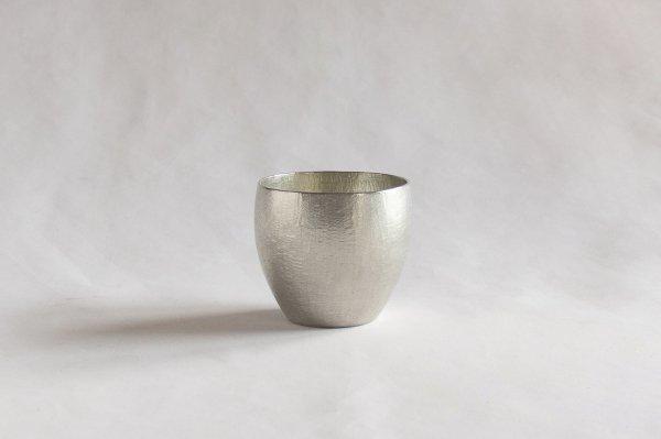 錫の酒器 丸