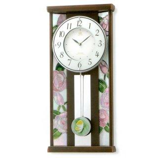 ステンドグラス時計 RHG-M007