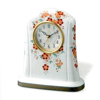 有田焼磁器枠時計 桜の図