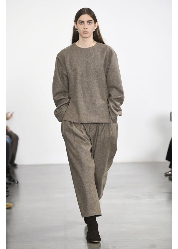 HED MAYNER / 8 PLEAT PANT