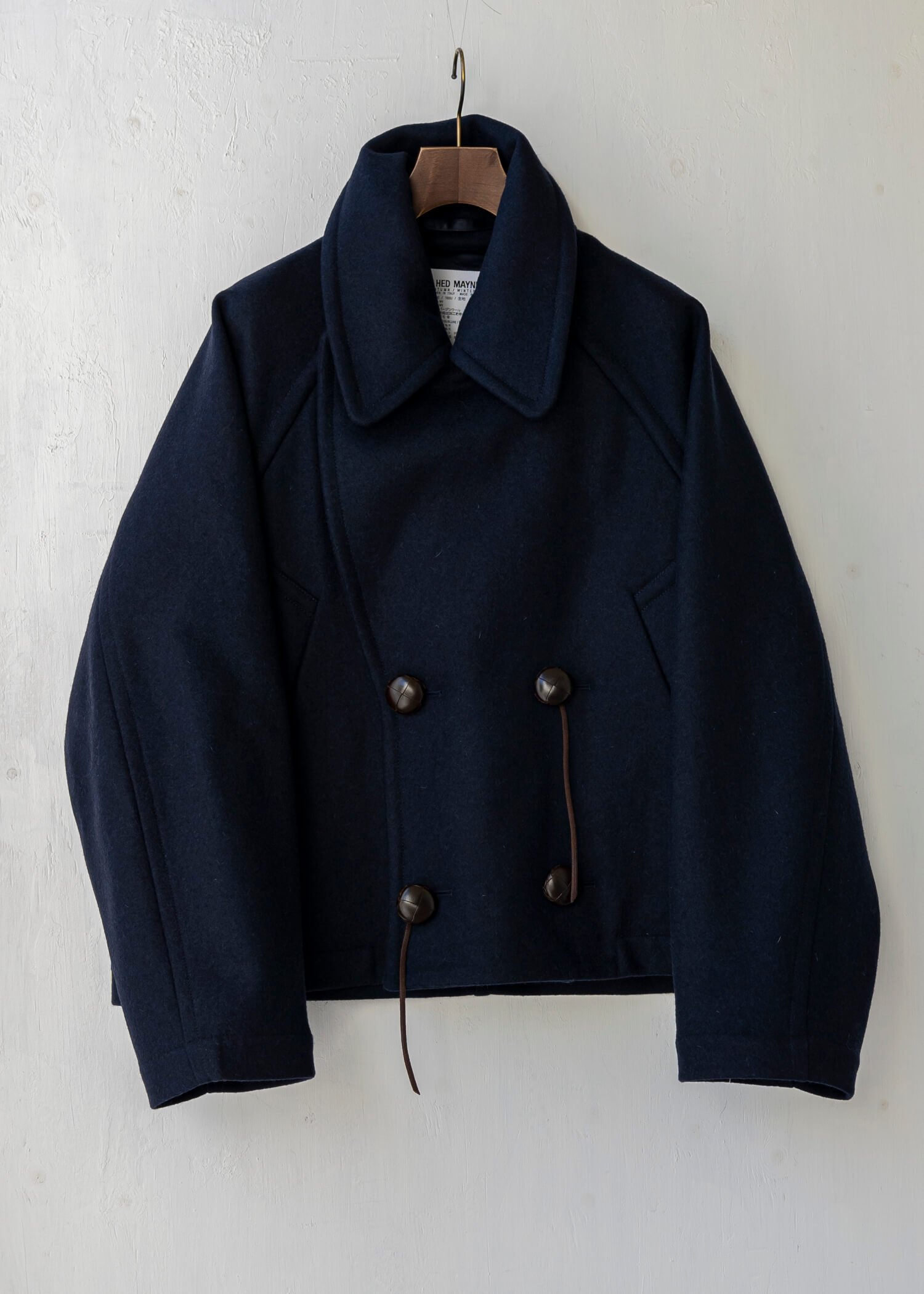 HED MAYNER / CROPPED PEA COAT