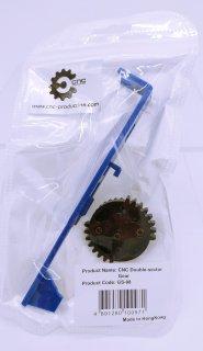 【CNC prodct】CNC ダブルセクターギアセット スタンダード電動ガン用