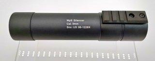 【CNC prodct】SI-03 MP9 サイレンサー(インナーバレル内蔵) for KWA_KSC