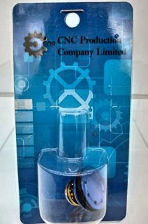 【CNC prodct】アルミ製ダブルOリングピストンヘッド ボールベアリング付き スタンダード電動ガン用