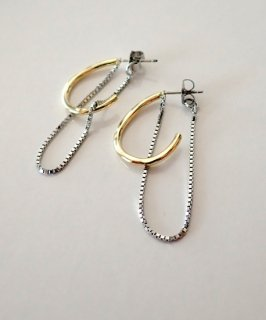 Chain×Metal By color Pierce