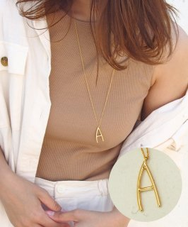 Initial Long necklace