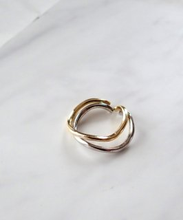 Gold×Silver set ring