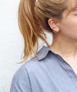 Oversized ear cuff