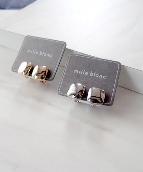 Mirror glass earring