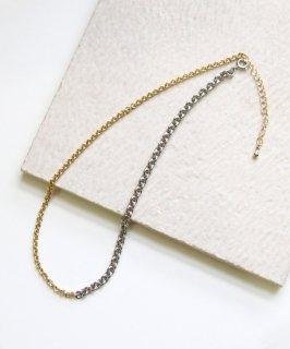 By color chain choker