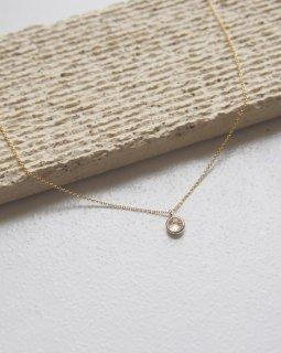 Birth stone necklace -January-