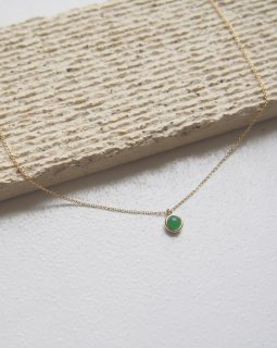 Birth stone necklace -May-