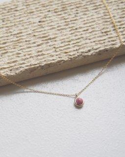 Birth stone necklace -July-