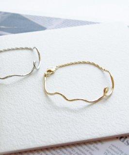 Metal chain bracelet