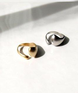 Matte metal ring