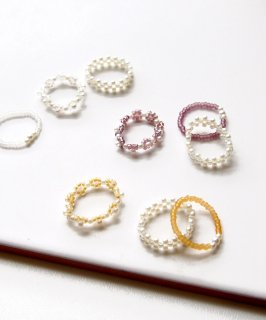 Color beads ring