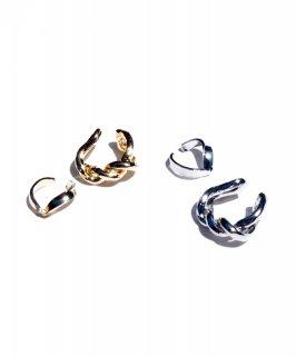 Metal set ear cuff