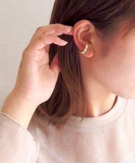 Metal ear cuff & Ring -2way-