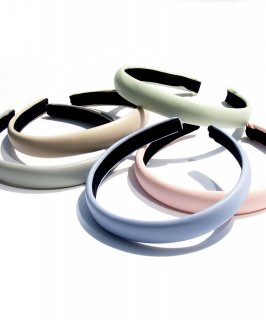 Pastel color hair band