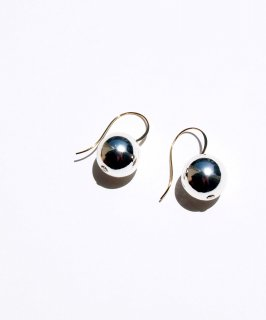 Silver color ball pierce