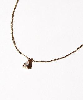 Zirconia petit necklace