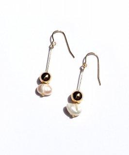 Freshwater pearl pierce