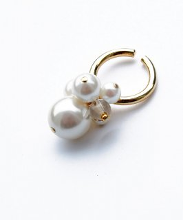 Volume pearl ear cuff