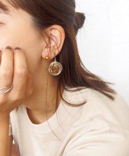 Vintage coin ear cuff