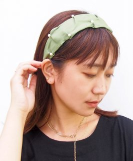 Pearl×Sheer head band