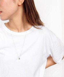 Mini metal long necklace