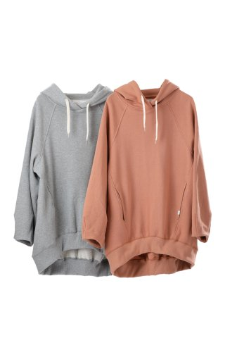 tuck sleeve hoodie