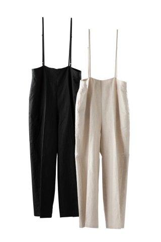linen strap pants