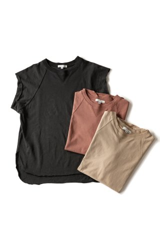 color nosleeve tee
