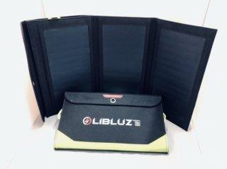 秋の特別キャンペーン ソーラーパネル小型充電池 LIBLUZ01(リブルース01)定価¥15,000(税別)→ 期間限定特別価格¥9,800(税別)