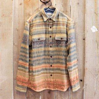 Faherty Brand(ファリティブランド):ジャガードシャツジャケット