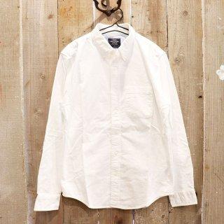 Abercrombie & Fitch(アバクロンビーアンドフィッチ):オックスフォードシャツ/WHITE