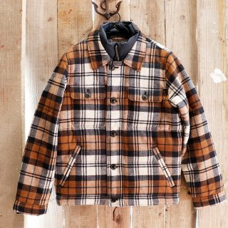 Abercrombie & Fitch(アバクロンビーアンドフィッチ):パファーシャツジャケット