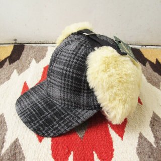 <img class='new_mark_img1' src='https://img.shop-pro.jp/img/new/icons20.gif' style='border:none;display:inline;margin:0px;padding:0px;width:auto;' />【セール】Woolrich Woolen Mills(ウールリッチ):ボア付きハンターキャップ