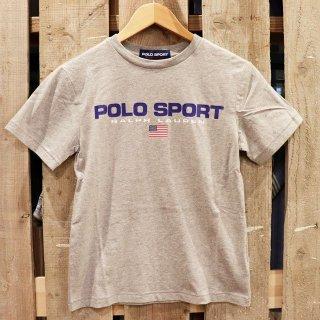 【ボーイズ】Polo Ralph Lauren(ポロラルフローレン):【Polo Sport】ロゴTシャツ