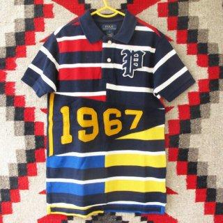 【ボーイズ】Polo Ralph Lauren(ポロ・ラルフローレン):パッチワークポロシャツ