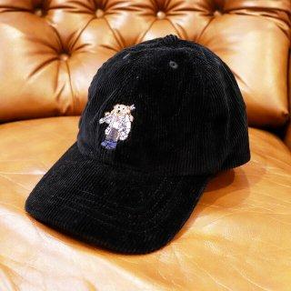 【ボーイズ】Polo Ralph Lauren(ポロラルフローレン):ポロベアーコーデュロイキャップ/Black