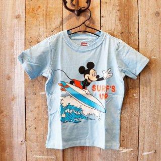 【ボーイズ】Disney(ディズニー):ミッキーマウス プリントTシャツ
