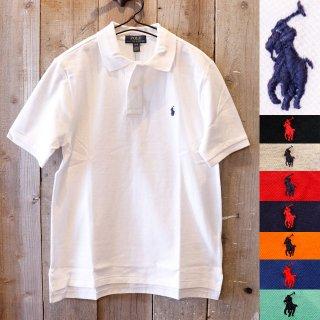 【ボーイズ】Polo Ralph Lauren(ラルフローレン):ワンポイント ポニー ポロシャツ