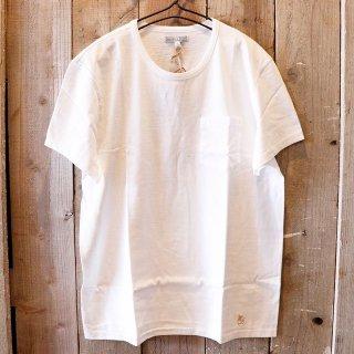 Wallace & Barnes in J.crew(ジェイクルー):ポケットTシャツ/White
