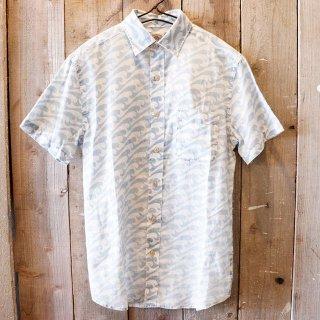 Faherty Brand(ファリティブランド):インディゴ半袖シャツ